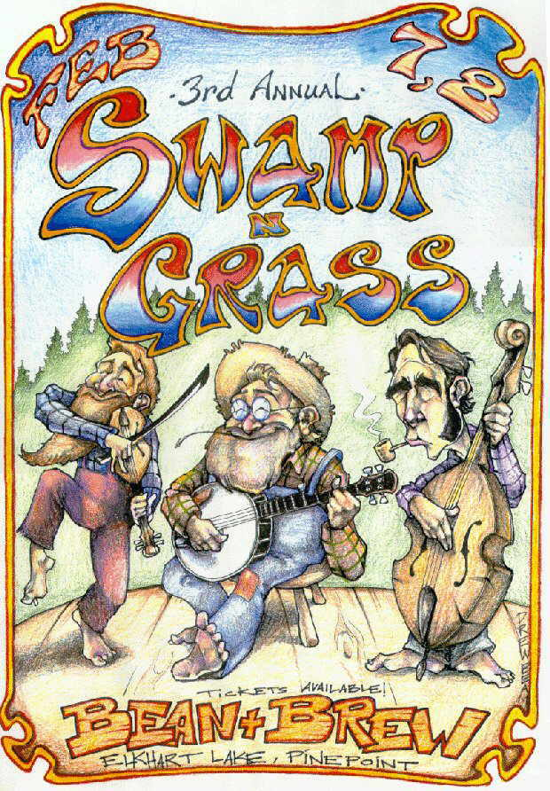 Swamp N Grass Poster